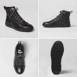Hunter Target Dipped Canvas Hi Top Sneakers Rare